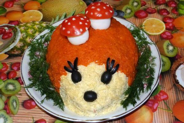 Салаты на день рождения детям рецепты